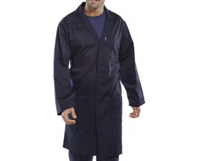 Polycotton Warehouse Coat