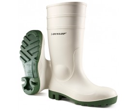 Dunlop Protomastor Safety White Wellington