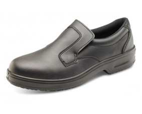 Micro Fibre Slip on Safety Shoe
