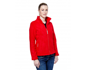 Ladies Classic Fitted Full Zip Fleece