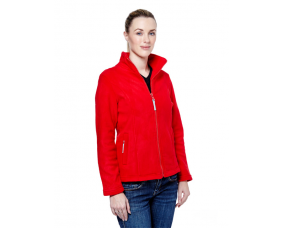 Ladies Classic Loose Fit Full Zip Fleece